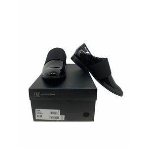 INC Kain Black Dress Shoes Size 8M